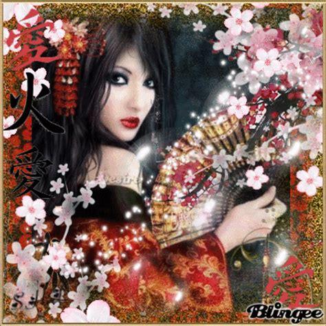 fantasy geisha animatedgif 400x400