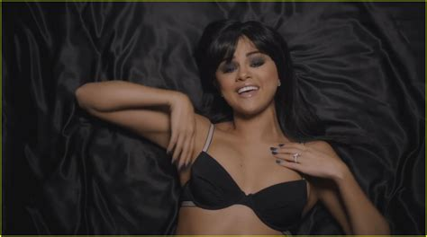 Selena gomez strips down to nothing but her lingerie on jpg 1222x683