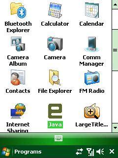 windows mobile bottom bar jpg 240x320